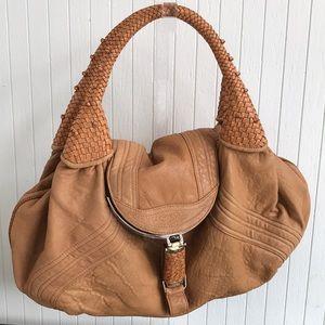 Auth Large Fendi Spy Bag